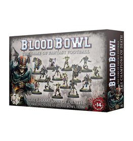 Games Workshop BLOOD BOWL CHAMPIONS OF DEATH TEAM