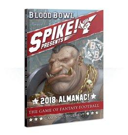 Games Workshop BLOOD BOWL: SPIKE! 2018 ALMANAC! (ENG)