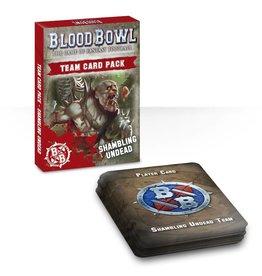 Games Workshop BLOOD BOWL: SHAMBLING UNDEAD CARD PACK