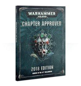 Games Workshop Warhammer 40K: Chapter Approved 2018