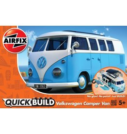 Airfix VW CAMPER VAN - BLUE - QUICK BUILD