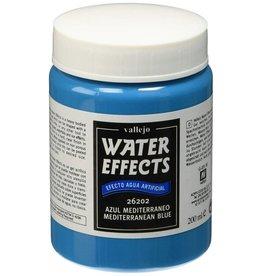 vallejo WATER EFFECTS - MEDITERRANEAN BLUE 200ML