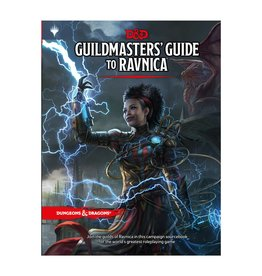 Wizards of the Coast D&D 5E: GUILDMASTERS GUIDE TO RAVNICA HC
