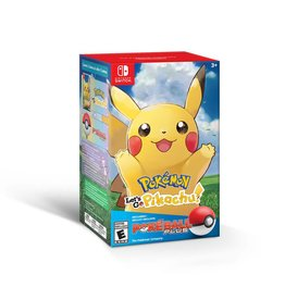 Nintendo Pokemon Let's Go Pikachu + Pokeball Plus Pack