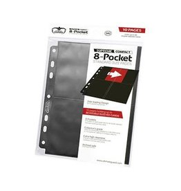 Ultimate Guard Binder Pages: Supreme 8-Pocket Standard Side Loading (10 pages)