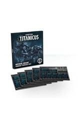Games Workshop ADEPTUS TITANICUS IMPERIAL KNIGHT COMMAND TERMINALS PACK