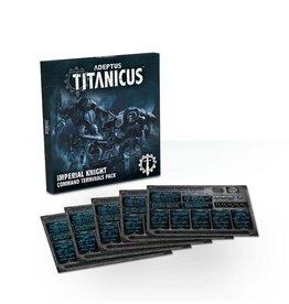 Games Workshop Adeptus Titanicus Imperial Knight Command Terminals Pack