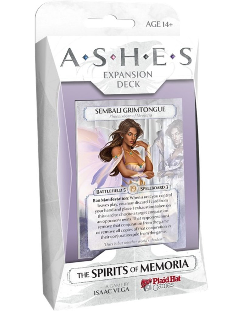 Plaid Hat Ashes: The Spirits of Memoria