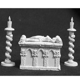 Reaper Mini Bones: Altar of Evil w/Victim