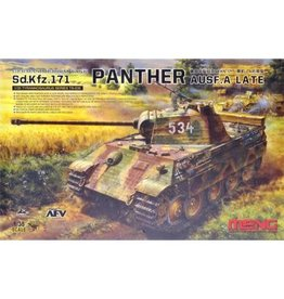 MENG GERMAN MEDIUM TANK SD.KFZ.171 PANTHER 1:35