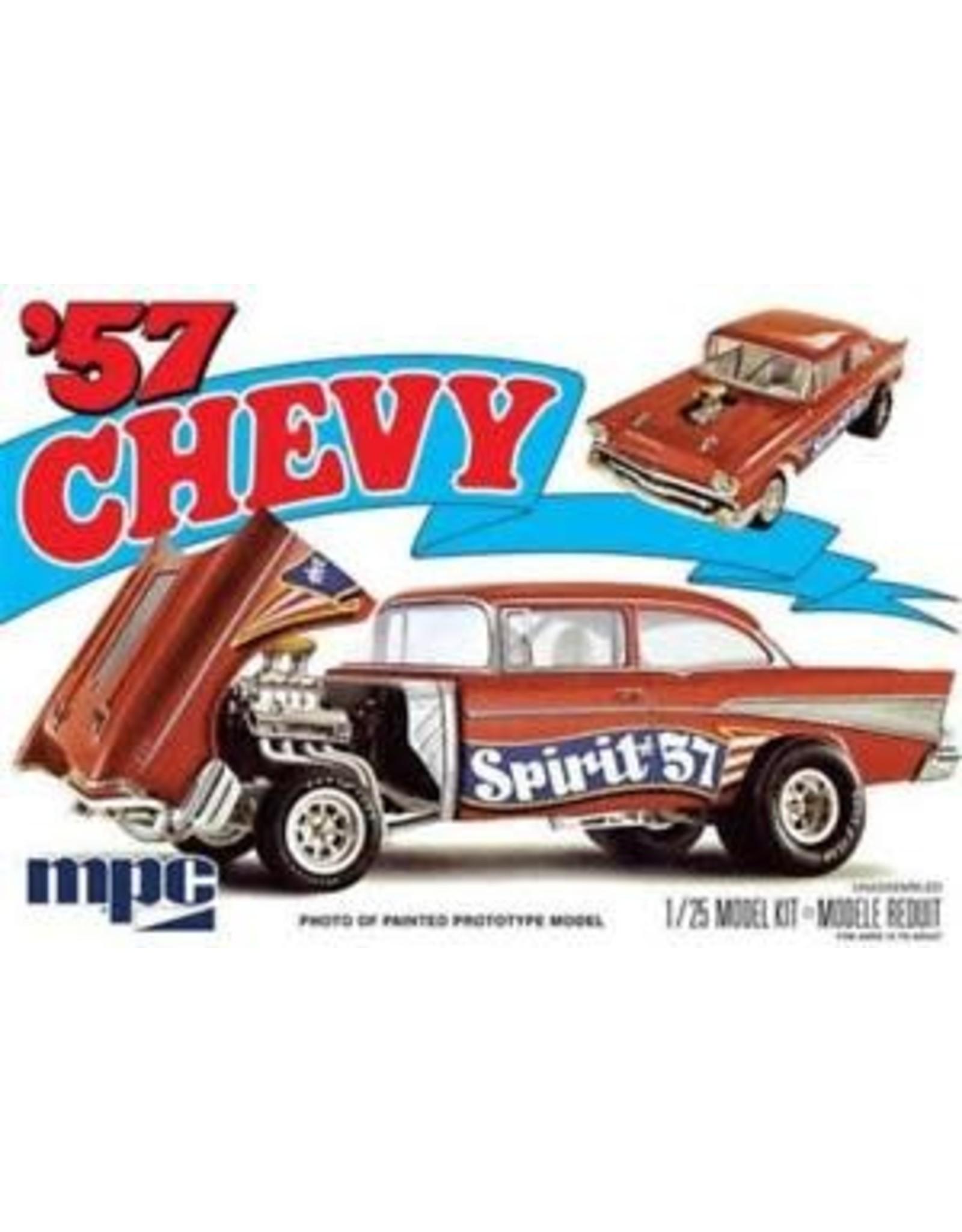 MPC 1957 CHEVROLET FLIP-NOSE SPIRIT OF 57 1:25