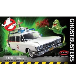 Polar Lights GHOSTBUSTERS ECTO-1 W/ SLIMER 1:25