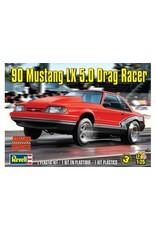 Revell 1990 FORD MUSTANG LX 5.0 DRAG RACER 1:25