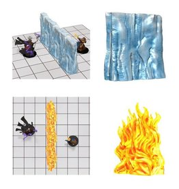 D&D Spell Effects: Wall of Fire and Wall of Ice