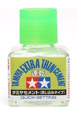 Tamiya TAMIYA EXTRA THIN CEMENT QUICK SET 40ML