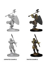 Wizkids PF Deep Cuts: Half-Orc Female Barbarian