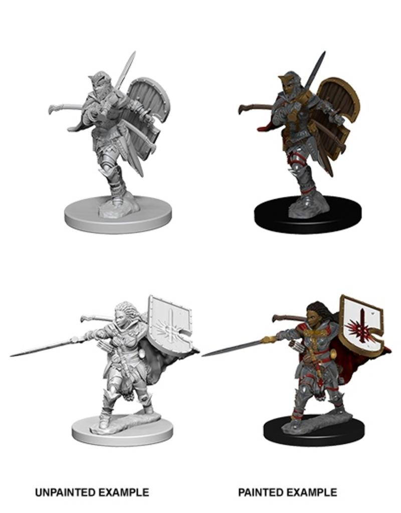 Wizkids PF Deep Cuts: Human Female Paladin
