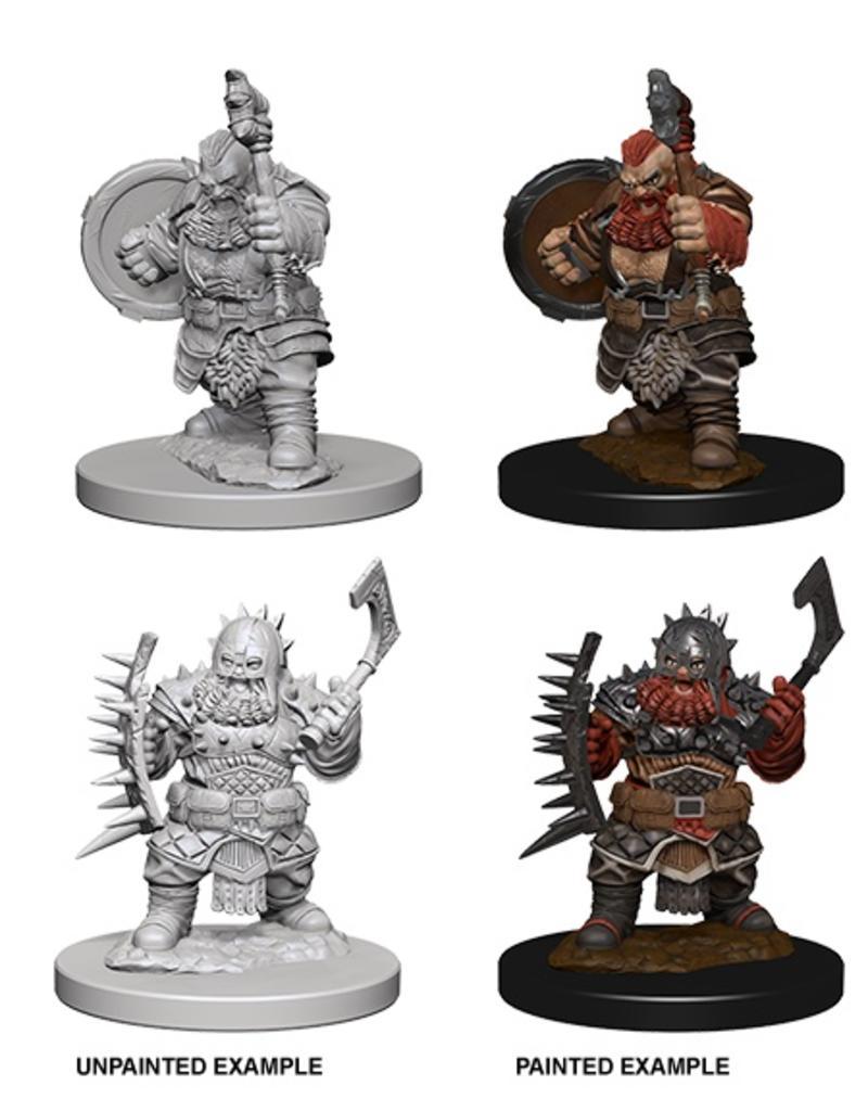 Wizkids PF Deep Cuts: Dwarf Male Barbarian