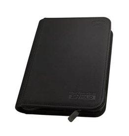 Ultimate Guard Binder: Zipfolio 9-Pocket Mini American - Black