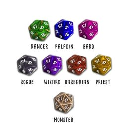 The Noble Artist HERO MASTER: CLASS THEMED DICE