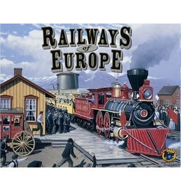 Eagle Gryphon Games RAILWAYS OF EUROPE (2017 ED)