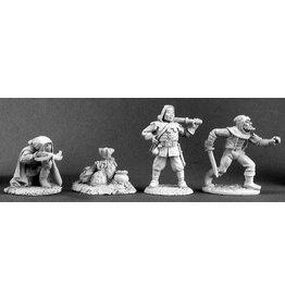 Reaper Mini Bones: Townsfolk IV (Bandits)