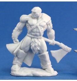 Reaper Mini Bones: Goldar, Male Barbarian