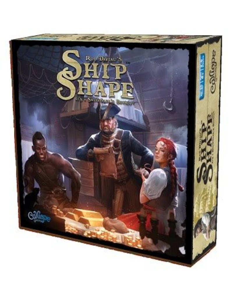 Calliope Games Ship Shape - Preorder
