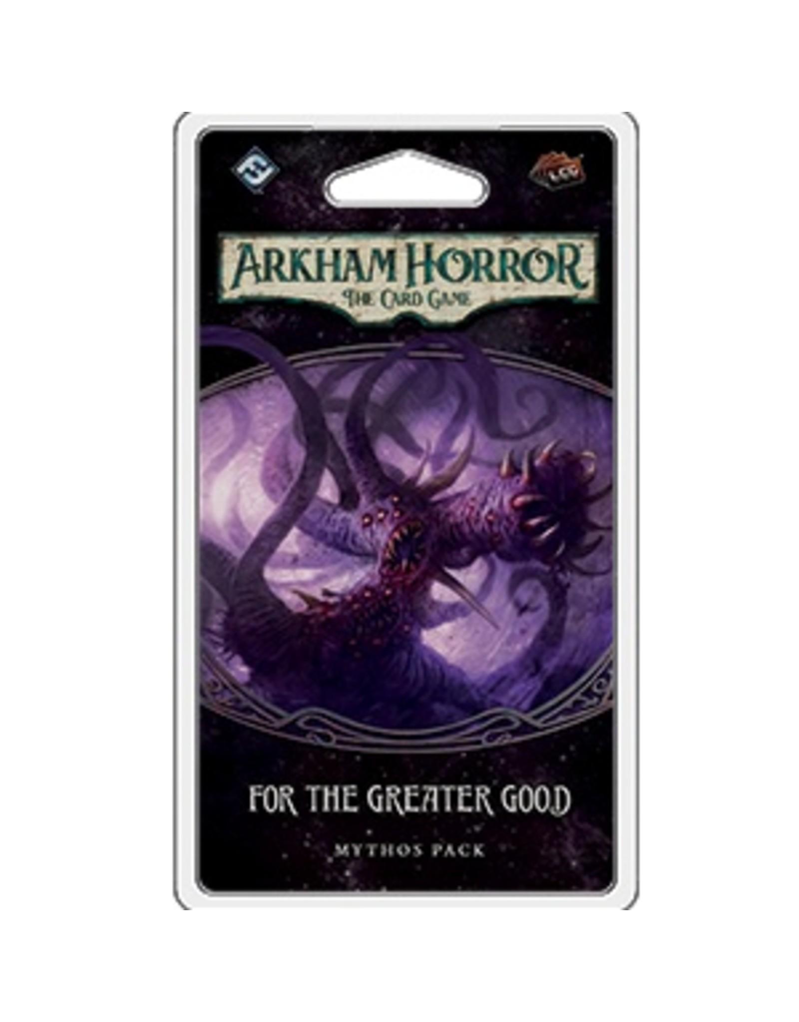 Fantasy Flight ARKHAM HORROR LCG: FOR THE GREATER GOOD