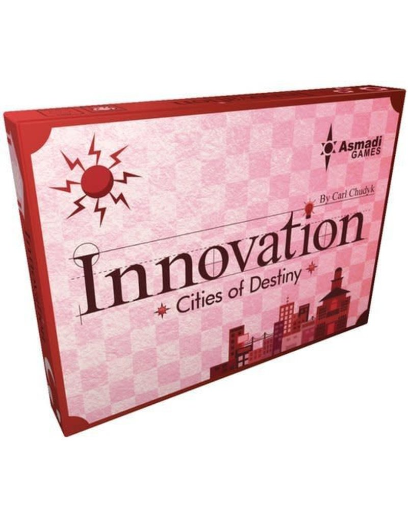 Asmadi Games Innovation 3rd Edition: Cities of Destiny