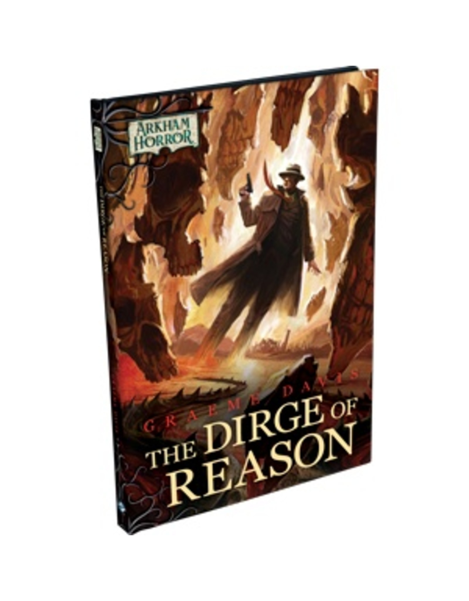Fantasy Flight ARKHAM HORROR LCG FICTION: THE DIRGE OF REASON NOVELLA