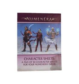 Numenera: Character Sheets (50)