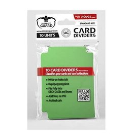 Ultimate Guard Card Divider: Green