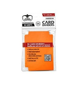 Ultimate Guard Card Divider: Light Orange