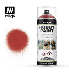 vallejo SPRAY PAINT - SCARLET RED 400ML
