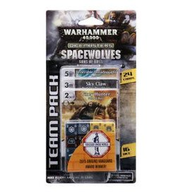 Wizkids WARHAMMER 40,000 DICE MASTERS: SPACE WOLVES SONS OF RUSS