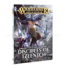 Games Workshop Warscroll Cards - Disciples of Tzeentch (oop)