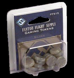 Fantasy Flight Supply Gaming Tokens: Silver