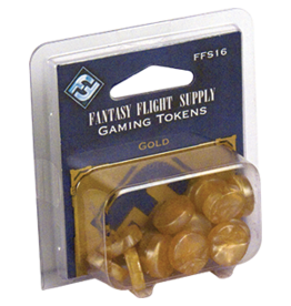 Fantasy Flight Supply Gaming Tokens: Gold