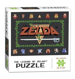 USAopoly 550PC PUZZLE - LEGEND OF ZELDA CLASSIC