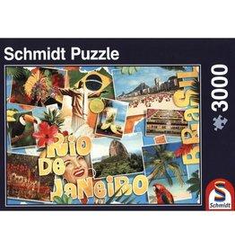 Schmidt Puzzle 3000 58185 Rio De Janeiro