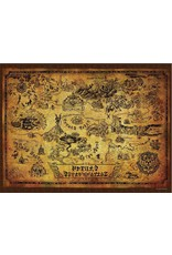 Legend of Zelda Map of Hyrule Puzzle