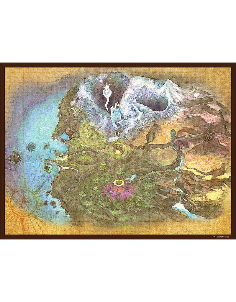 Legend of Zelda Majora's Mask Termina Map Puzzle