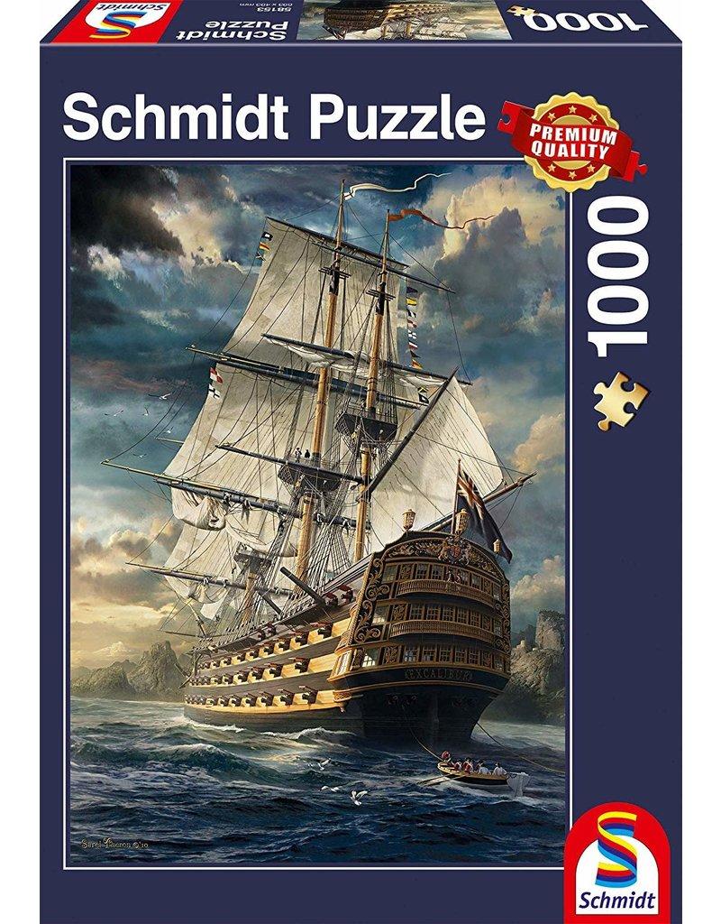 Schmidt PUZZLE 1000PC - SAILS SET