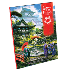 Fantasy Flight LEGEND OF THE FIVE RINGS RPG: COURTS OF STONE