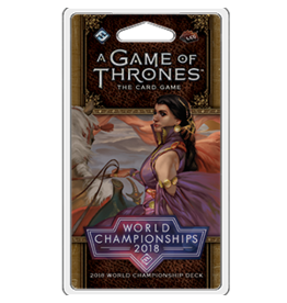 Fantasy Flight Games Game of Thrones LCG: 2018 World Championship Deck