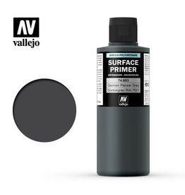 VALLEJO PRIMER: GERMAN PANZER GREY RAL 7021 - 200ML