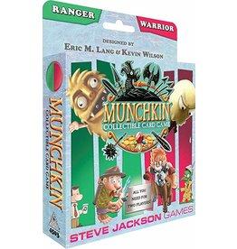 Steve Jackson Games Munchkin CCG Collectible Card Game Ranger and Warrior Starter Set