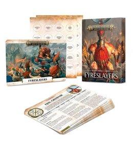 Games Workshop Warscroll Cards: Fyreslayers