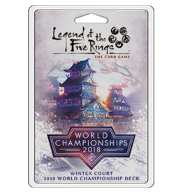 Fantasy Flight Games L5R: Winter Court 2018 World Championship Deck